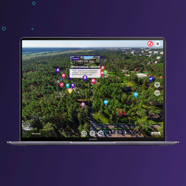 Виртуальный тур для Admiral Club Resort